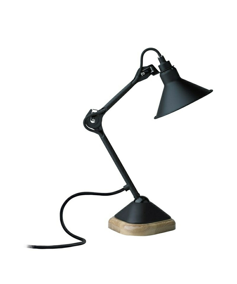 207 Bordlampe Sort/Sort - Lampe Gras