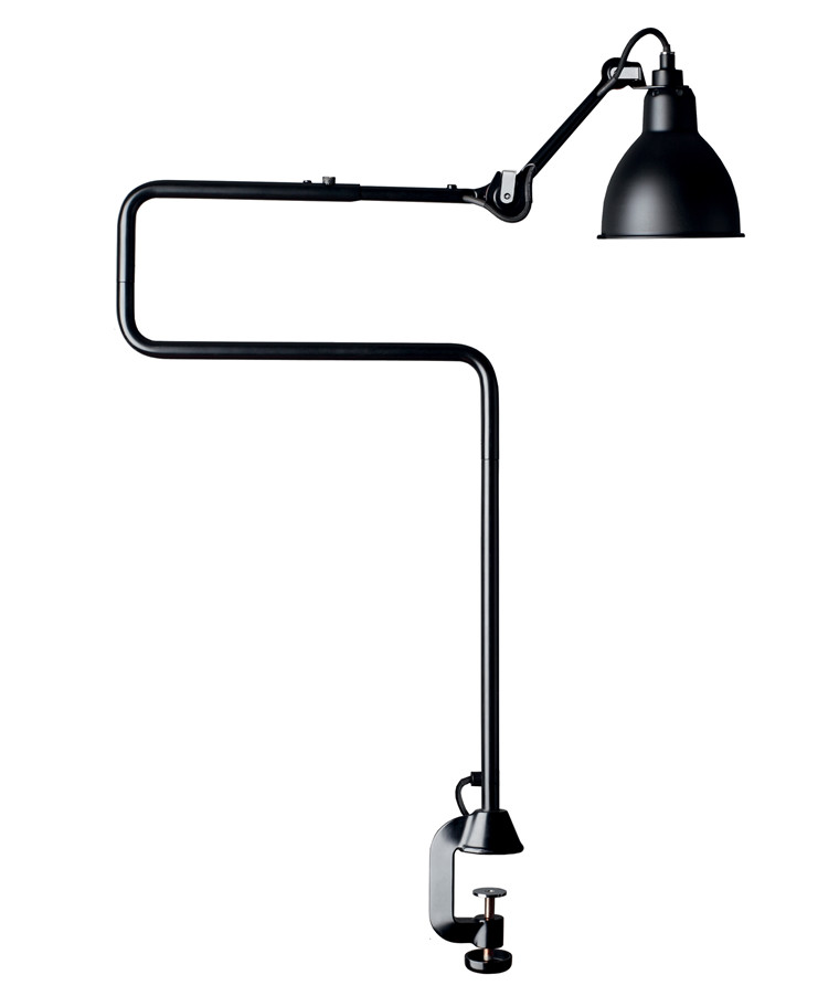 211/311 Bordlampe Sort - Lampe Gras