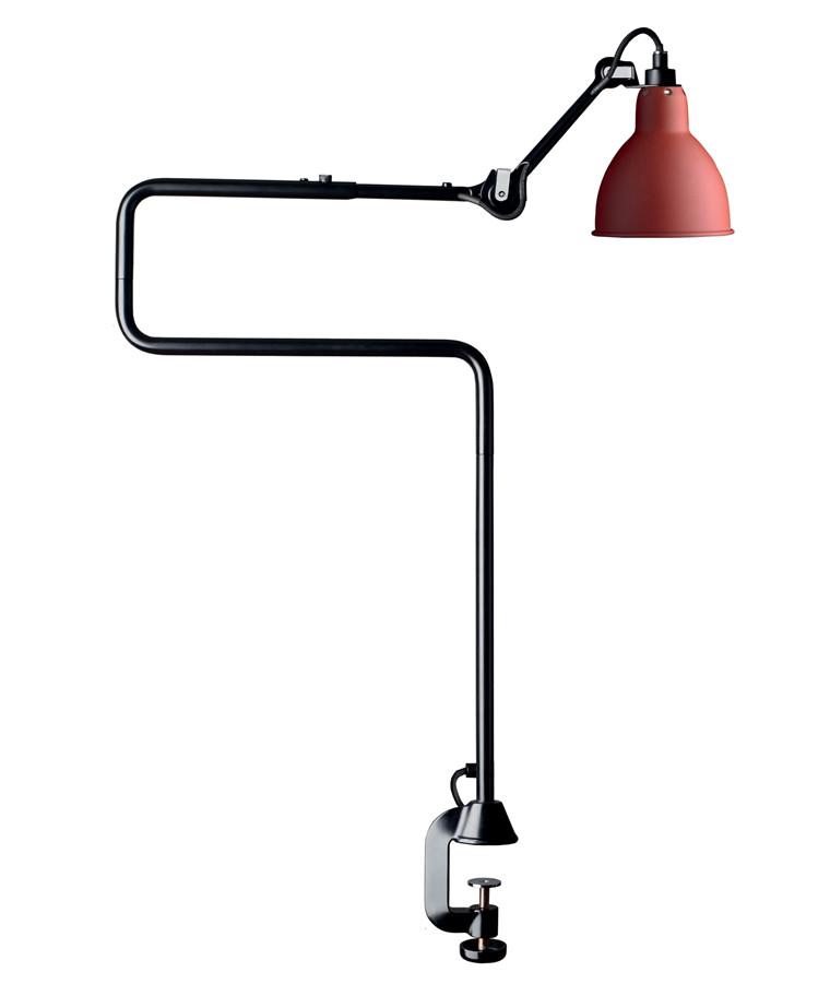 211/311 Bordlampe Rød - Lampe Gras