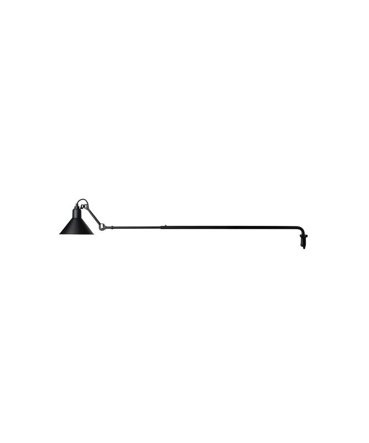 213 Væglampe Sort - Lampe Gras