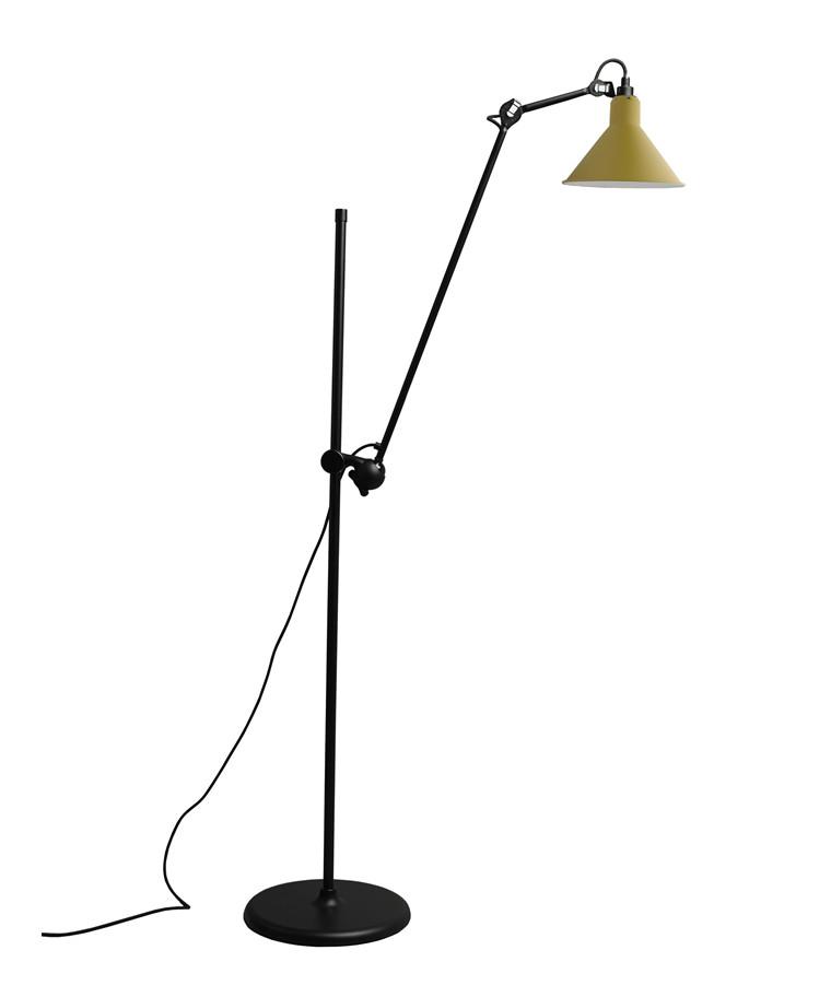 215 Gulvlampe Gul - Lampe Gras