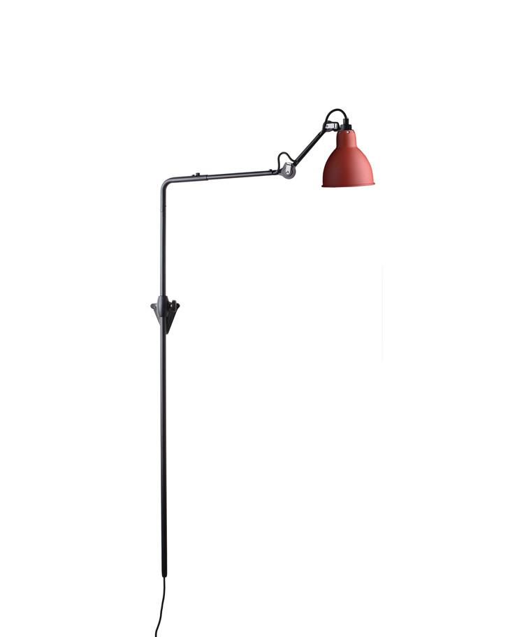 216 Væglampe Rød - Lampe Gras
