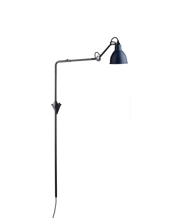 216 Væglampe Blå - Lampe Gras