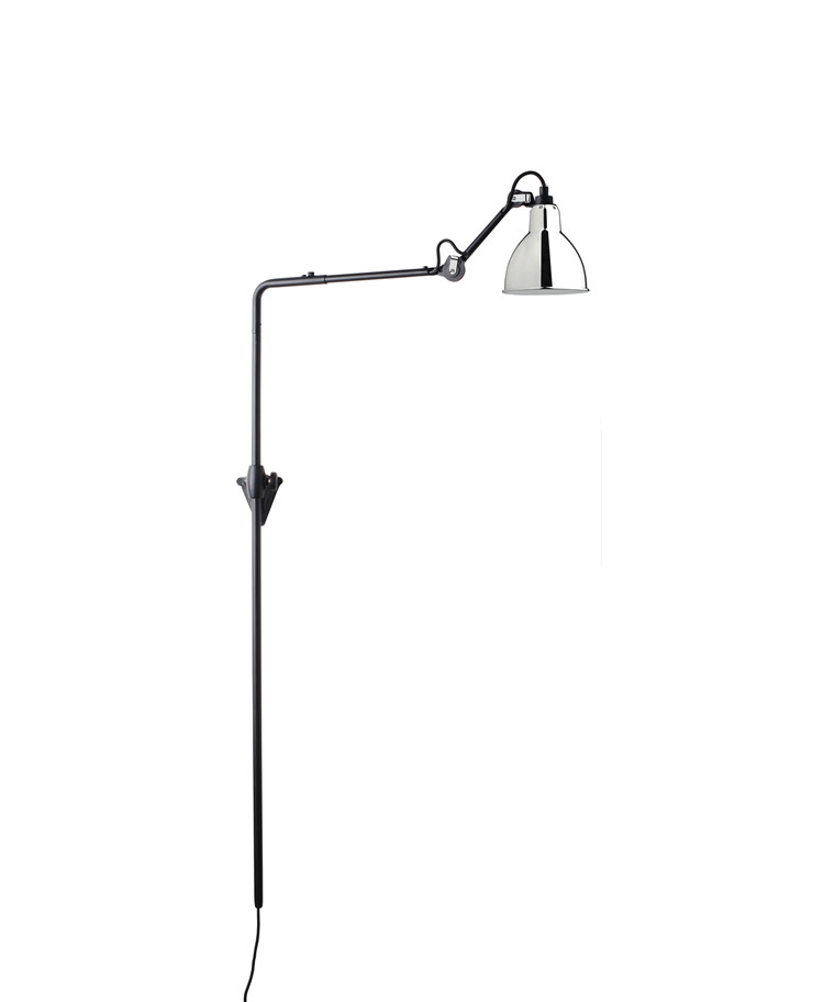 216 Væglampe Krom - Lampe Gras