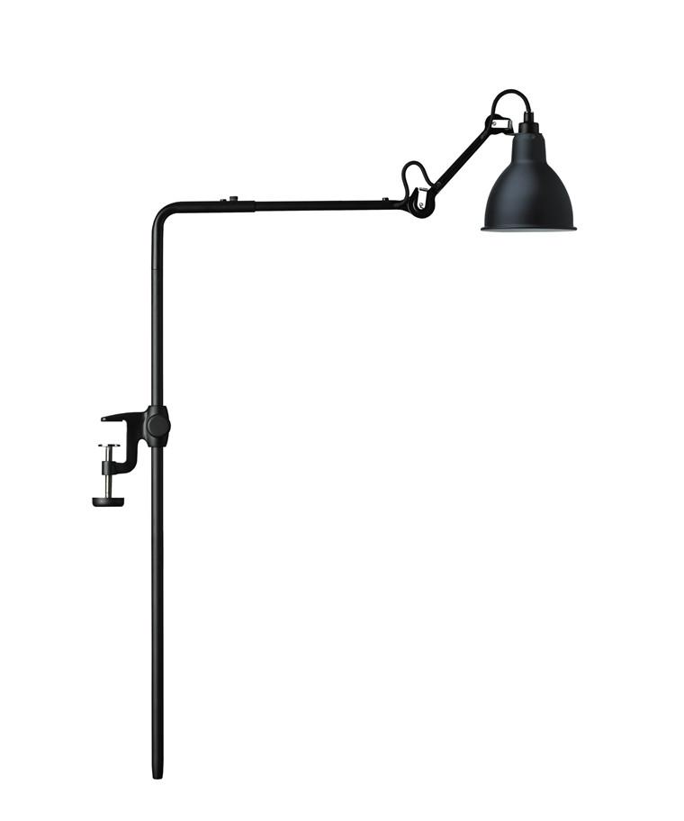 226 Bordlampe/Reol Lampe Sort - Lampe Gras