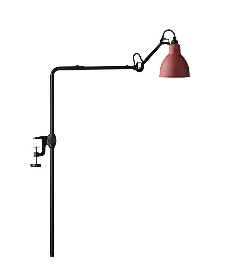 226 Bordlampe/Reol Lampe Rød - Lampe Gras