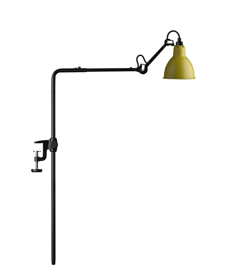 226 Bordlampe/Reol Lampe Gul - Lampe Gras