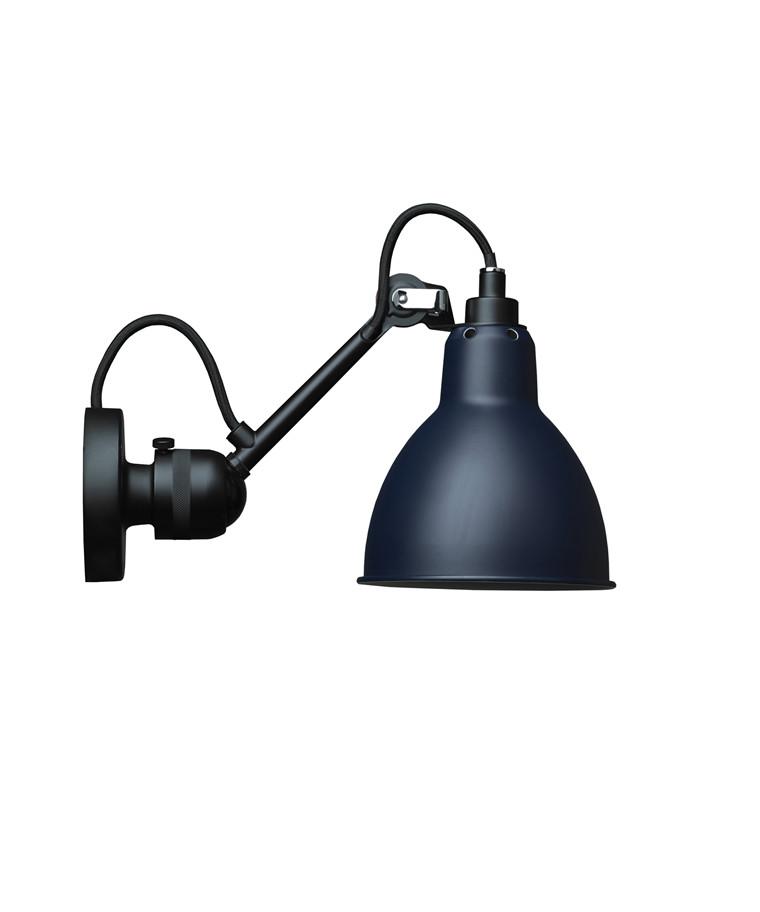 304 Væglampe Blå - Lampe Gras