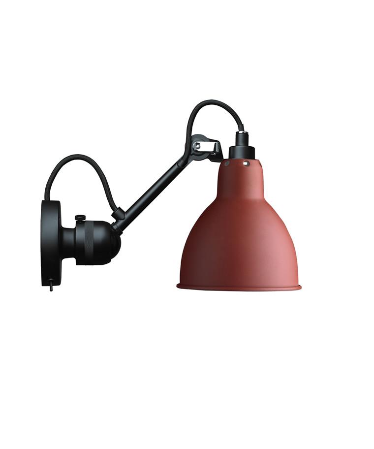 304SW Væglampe Rød - Lampe Gras