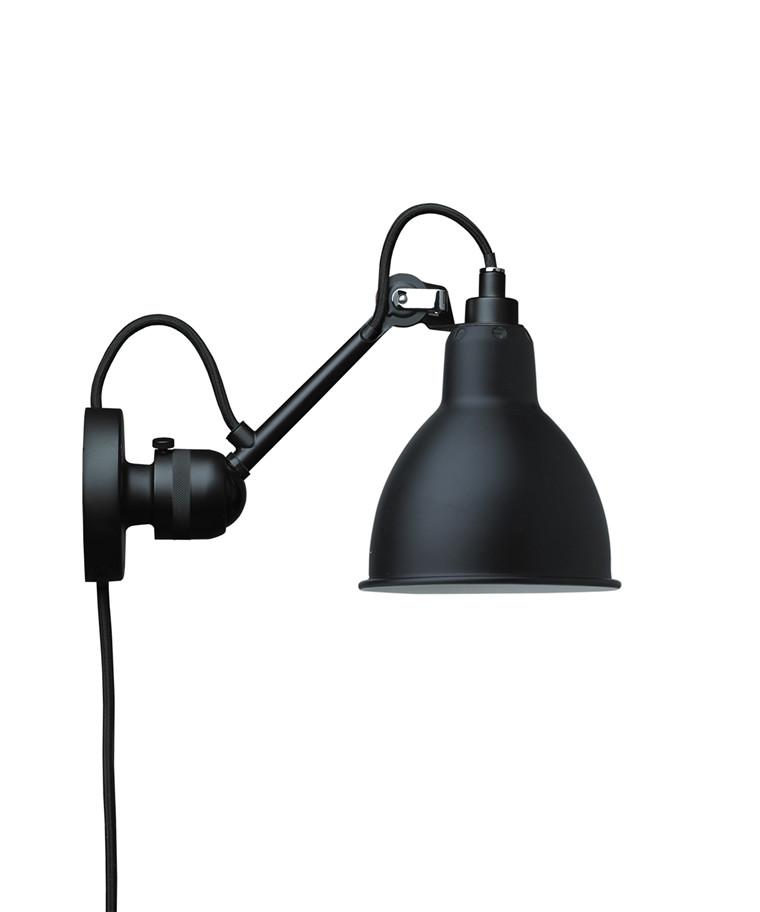 304CA Væglampe Sort - Lampe Gras