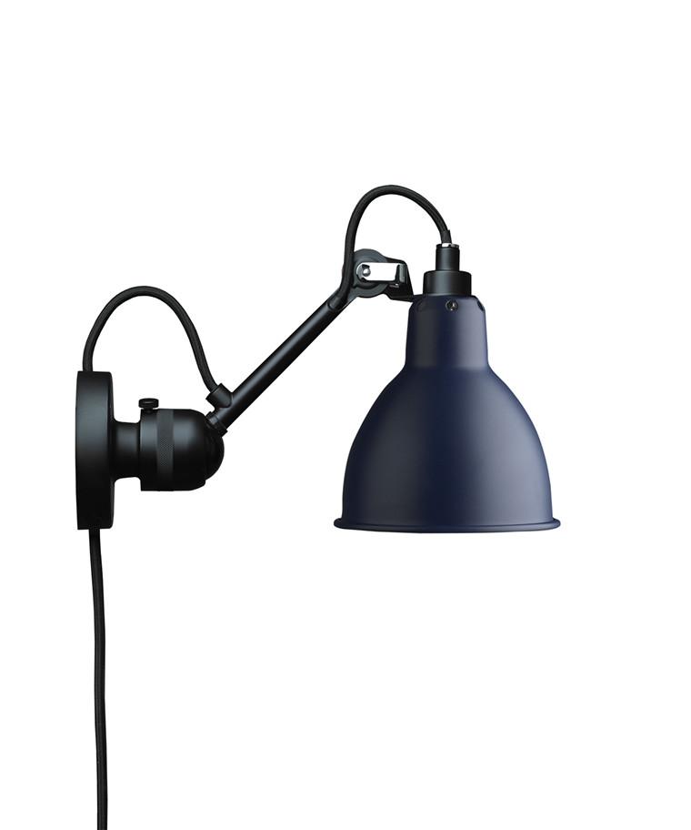304CA Væglampe Blå - Lampe Gras