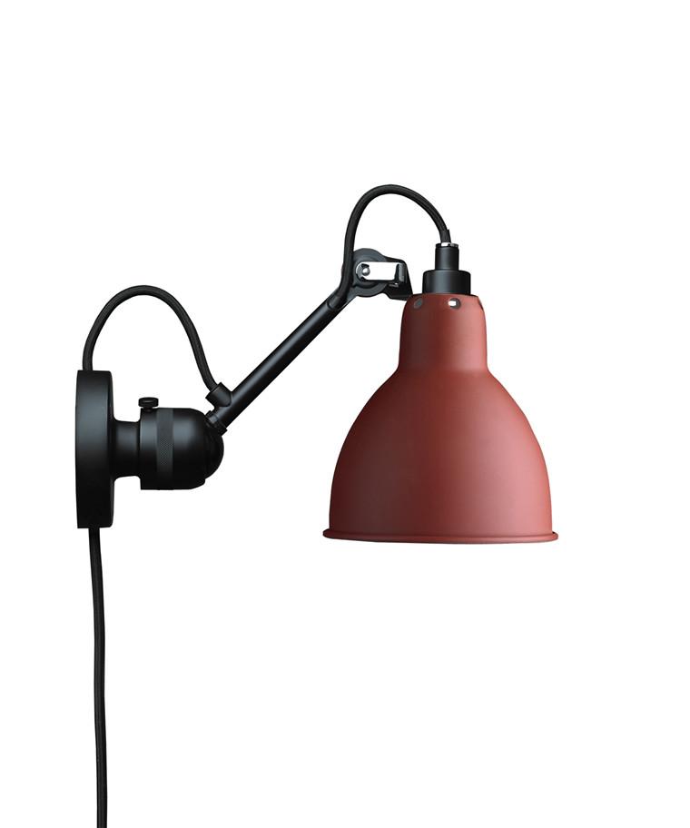 304CA Væglampe Rød - Lampe Gras