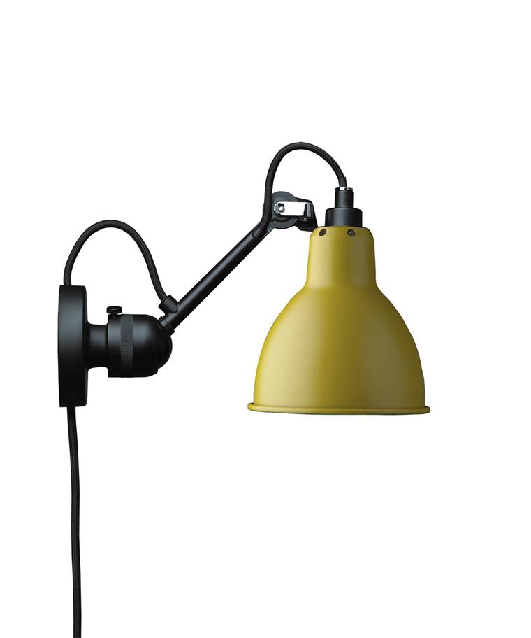 304CA Væglampe Gul - Lampe Gras