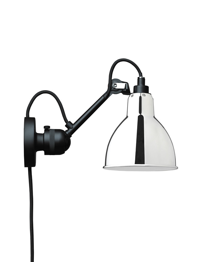 304CA Væglampe Krom/Glossy - Lampe Grass