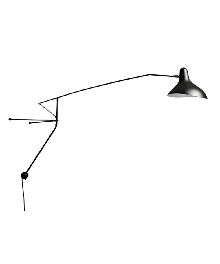 Mantis BS2 Sort Væglampe - Schottlander