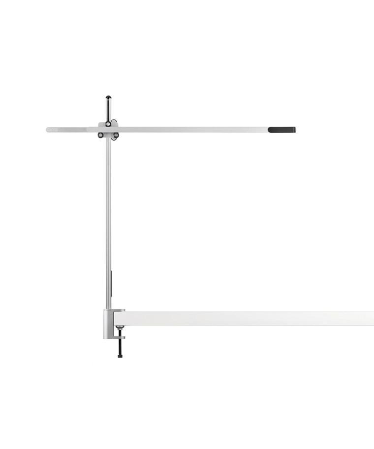 CSYS Bordlampe m/Klampe Sølv/Sort - Jake Dyson