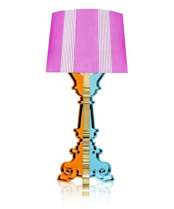 Bourgie Bordlampe Multicolored Fucsia - Kartell