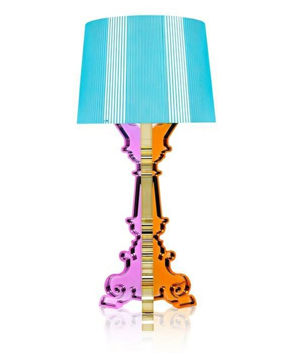 Bourgie Bordlampe Multicolored Light Blue  - Kartell