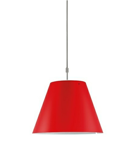 Costanza Pendel Primary Red - Luceplan