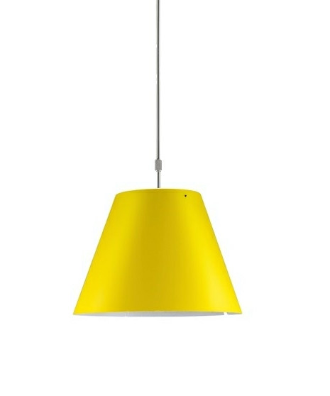 Costanza Pendel Smart Yellow - Luceplan