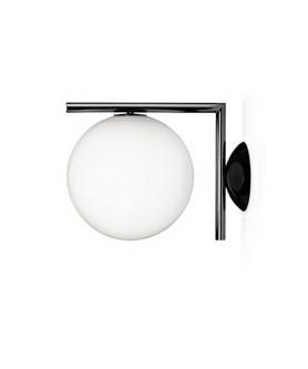 IC C/W2 Væglampe/Loftlampe Krom - Flos
