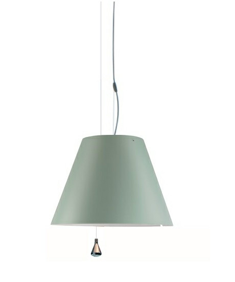 Costanza Pendel Up/Down Comfort Green - Luceplan