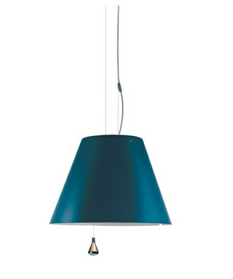 Costanza Pendel Up/Down Petroleum Blue - Luceplan