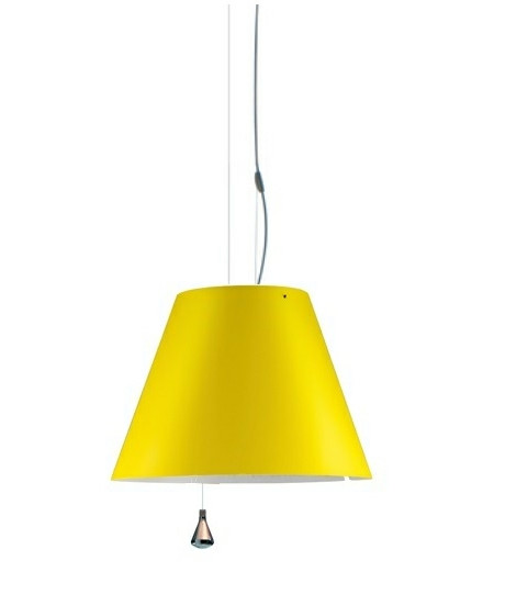 Costanza Pendel Up/Down Smart Yellow - Luceplan