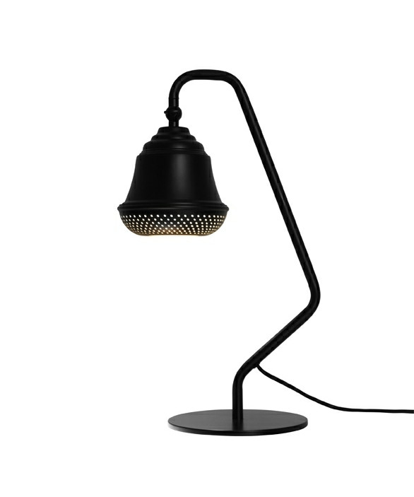 Bellis 160 Bordlampe Sort - Design By Us