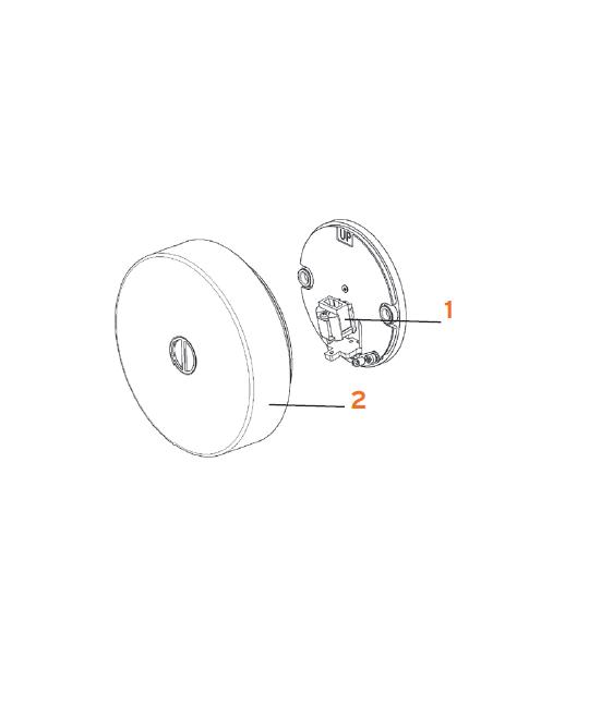 Fatning G9 Mini Button Glo-Ball - Flos