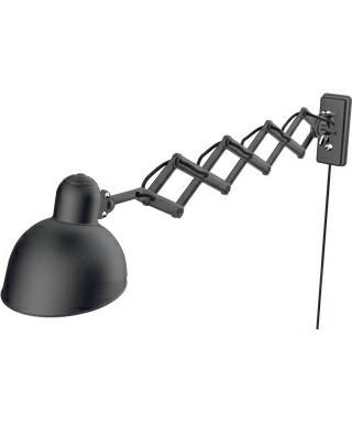 Kaiser Idell Væglampe Sakselampe 6718-W Mat Sort - Fritz Hansen