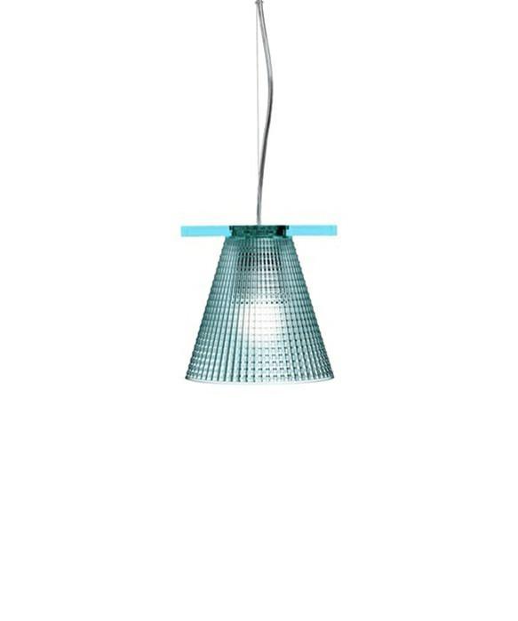 Light Air Pendel Sculped Lys Blå - Kartell