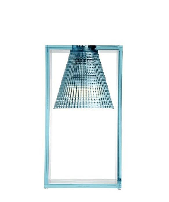 Light Air Bordlampe Sculped Lys Blå - Kartell