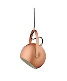 Ball Pendel w/Handle Mat Kobber - Frandsen