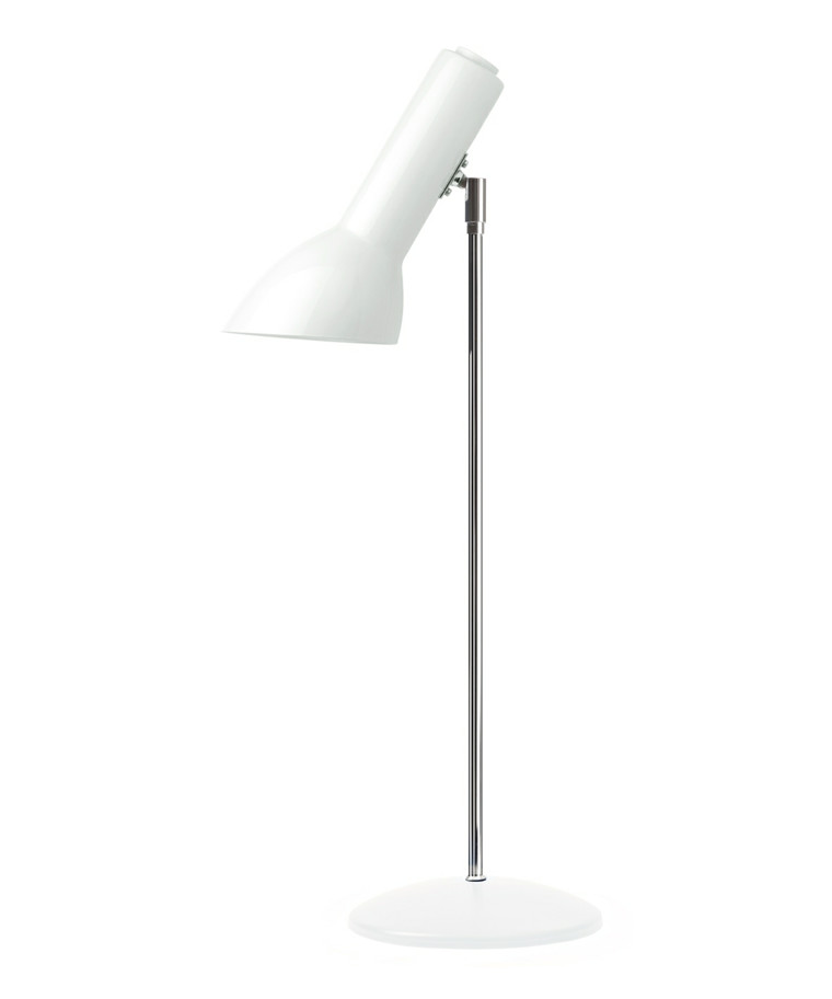 Oblique Bordlampe Blank Hvid - CPH Lighting