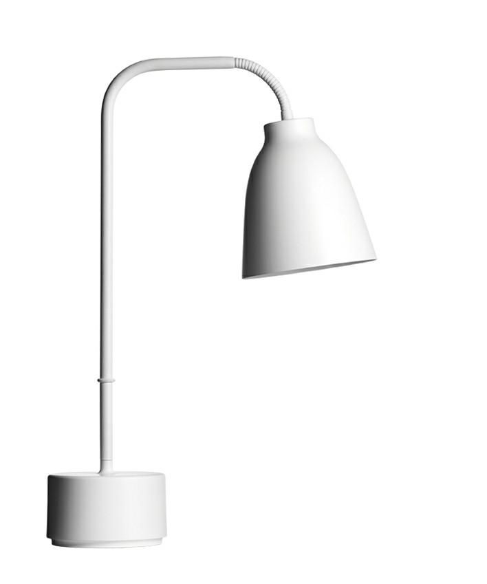 Caravaggio Read Bordlampe Hvid - Lightyears