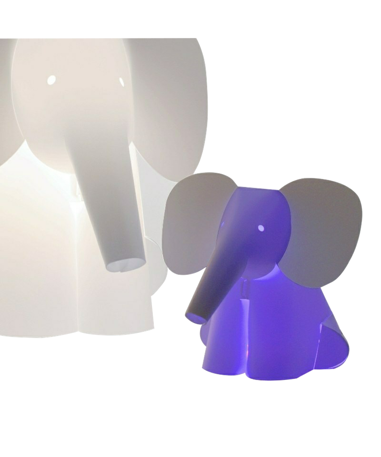 Mini Zoolight Elefant Bordlampe - Intermezzo