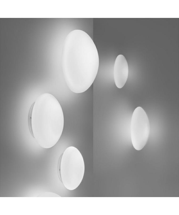 Bianca Loftlampe/Væglampe Ø30 Hvid - Vistosi
