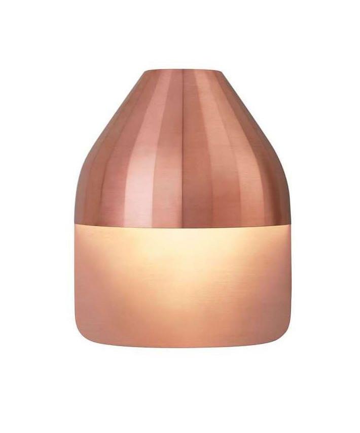 Facet Udendørs Væglampe m/Medium Base Kobber - Le Klint