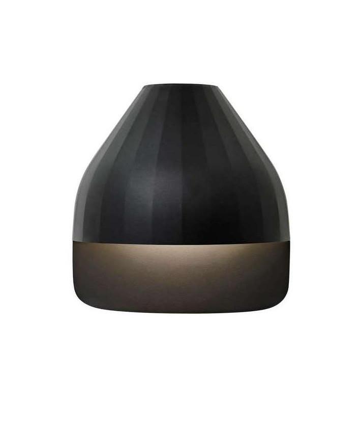 Facet Udendørs Væglampe m/Small Base Sort - Le Klint