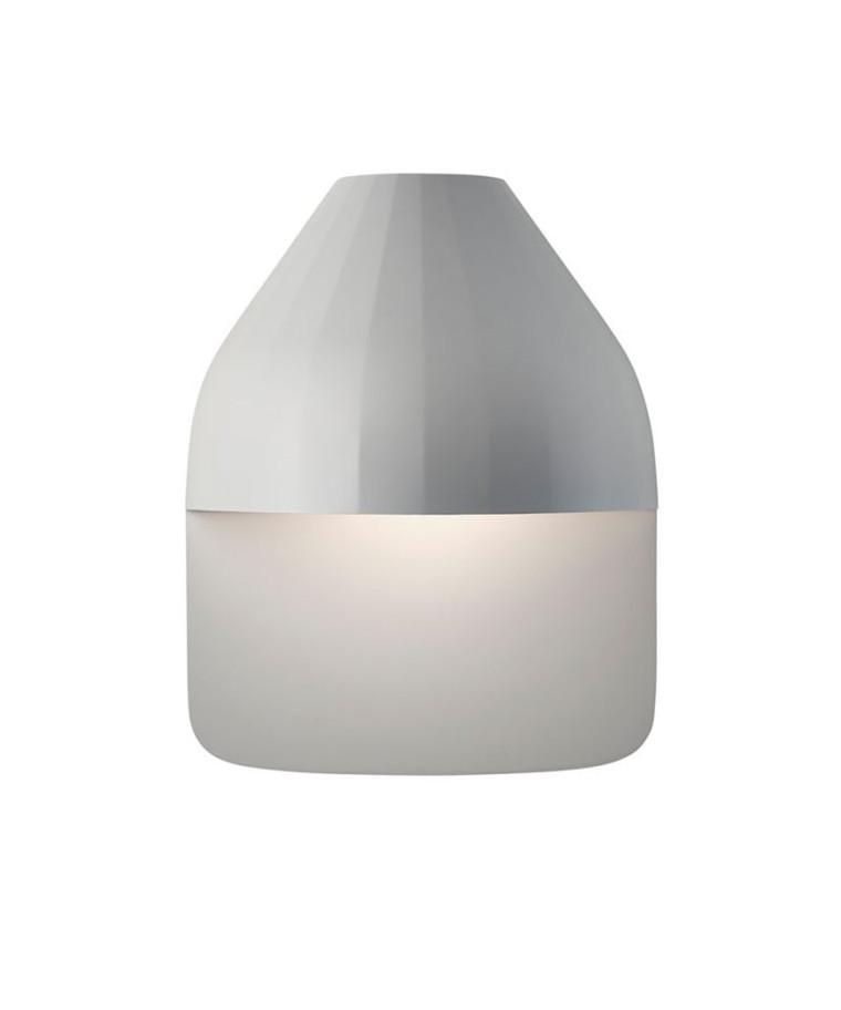 Facet Udendørs Væglampe m/Medium Base Lys Grå - Le Klint