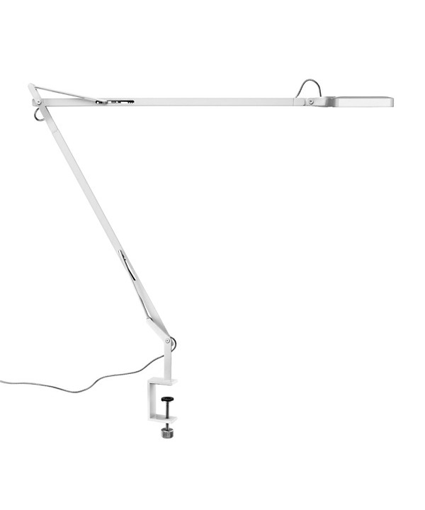 Kelvin LED Bordlampe m/Klemme Hvid - Flos