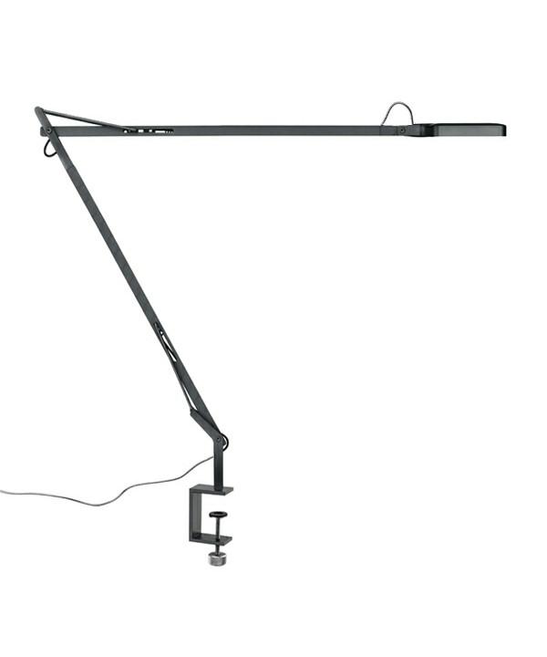 Kelvin LED Bordlampe m/Klemme Antracit - Flos