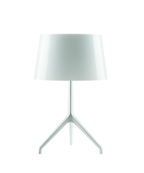 Lumiere XXS Bordlampe Alu/Hvid - Fosccarini