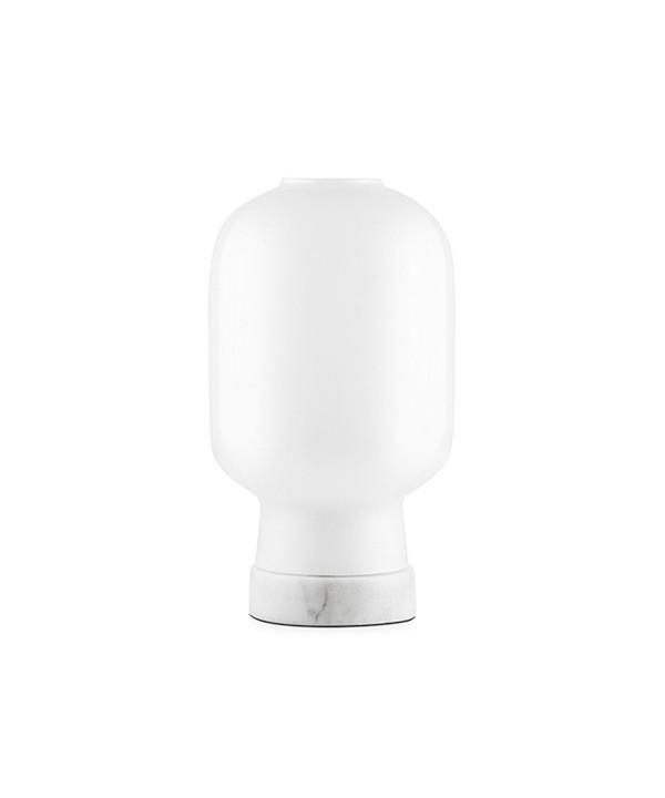 Amp Bordlampe Hvid/Hvid - Normann