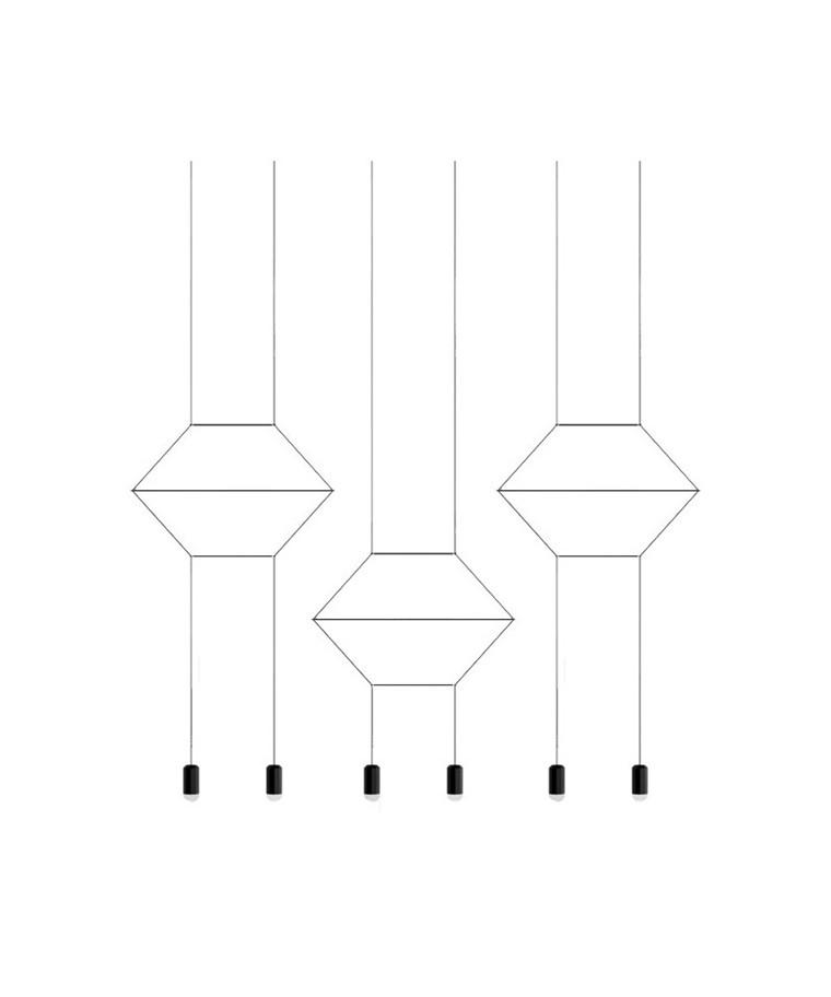 Wireflow Pendel 0325 - Vibia