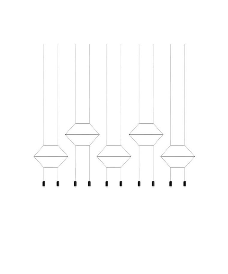 Wireflow Pendel 0330 - Vibia