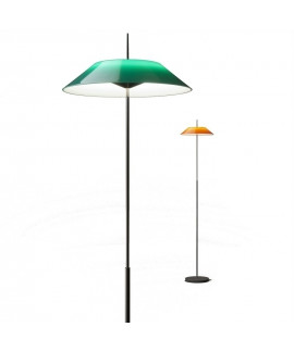 Mayfair Gulvlampe Blank Sort/Grøn - Vibia