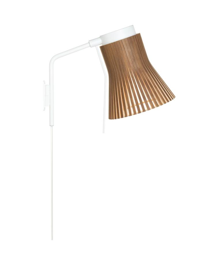 Petite 4630 Væglampe Valnød - Secto