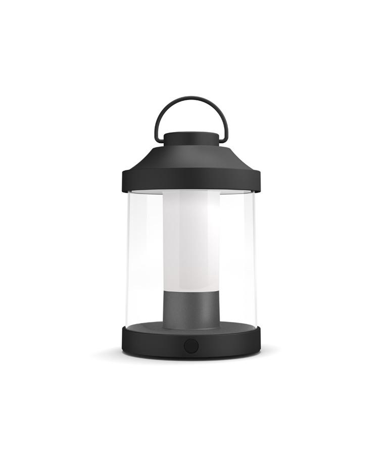 Abelia Portable Bordlampe Sort - Philips